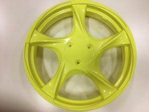 """Aluminium fälg 14"""" gul"""