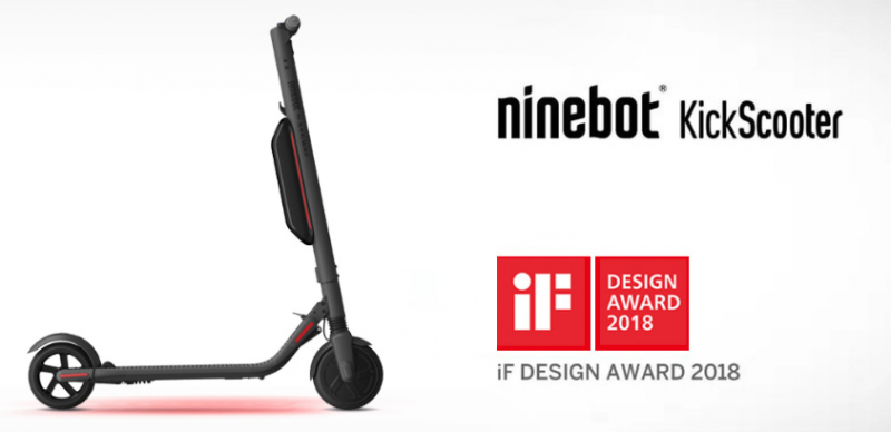 Ninebot by Segway - KickScooter ES4 800W