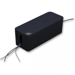 Cablebox svart, perfekt för att gömma grendosor och sladdar.