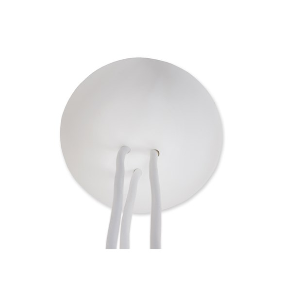 CableCup takkopp trio vit. Till 3 stycken lampsladdar. Lätt monterad och praktisk i sin design.