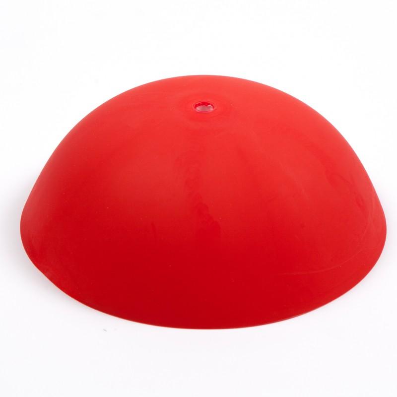 CableCup i färgen röd. Smidig uppsättning.