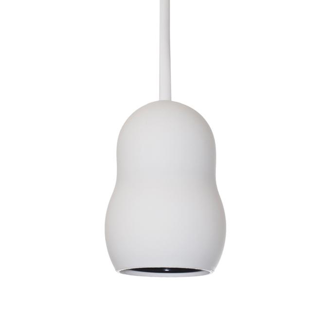 Cloud upphäng i vitt från CableCup. Upphänget har en E27 sockel med 3m sladd.