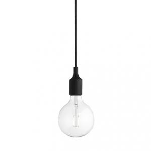 E27 pendel takupphäng svart från Muuto. Inklusive LED-lampa.