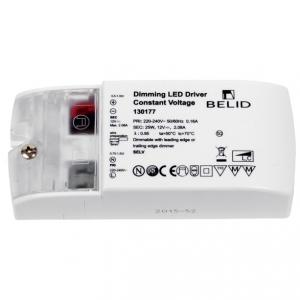 Extern LED-driver till 12V skena