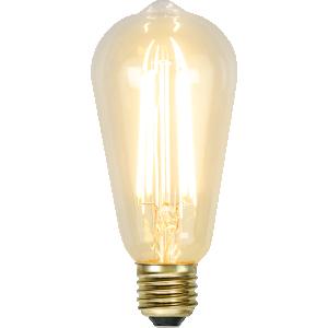 filament led edison med ett extra varmt ljus.