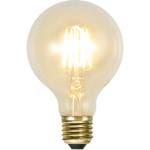 filament led glob med ett extra varmt ljus och E27 sockel.