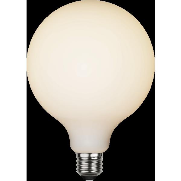Filament-LED glob opal 5W(35W) E27, 125mm dimbar