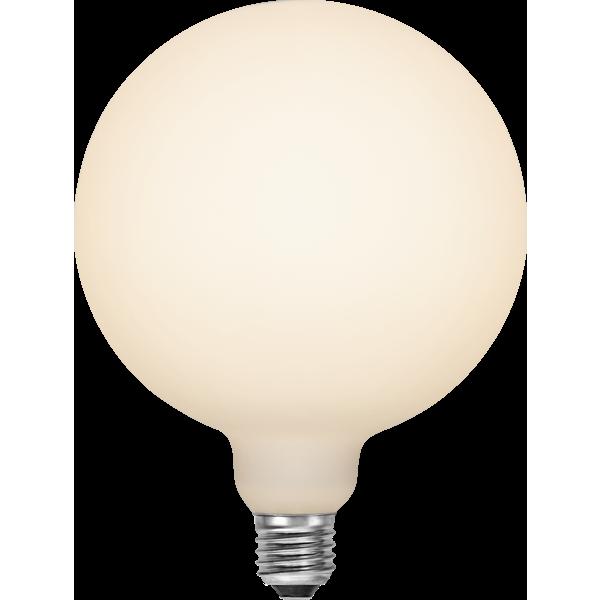 Filament-LED glob opal 6W(48W) E27, 150mm dimbar