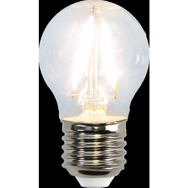 Filament-LED klot 2W(25W) E27