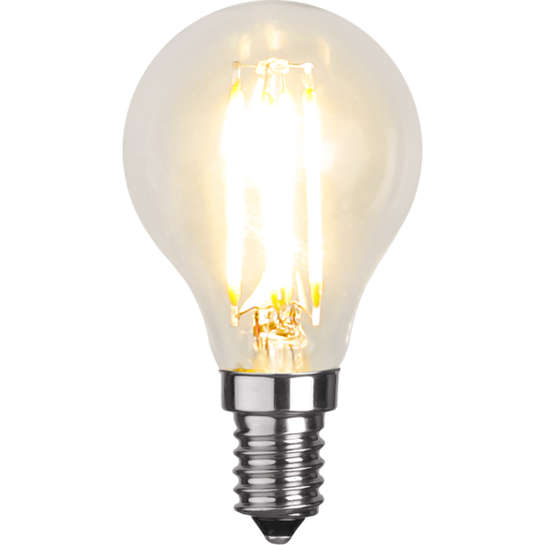 Filament-LED klot 4,2W(37W) E14, dimbar