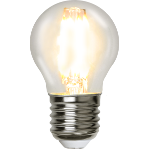 Filament-LED klot 4,2W(37W) E27, dimbar