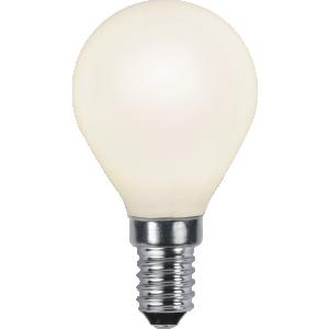 Filament-LED klot opal 3W(25W) E14