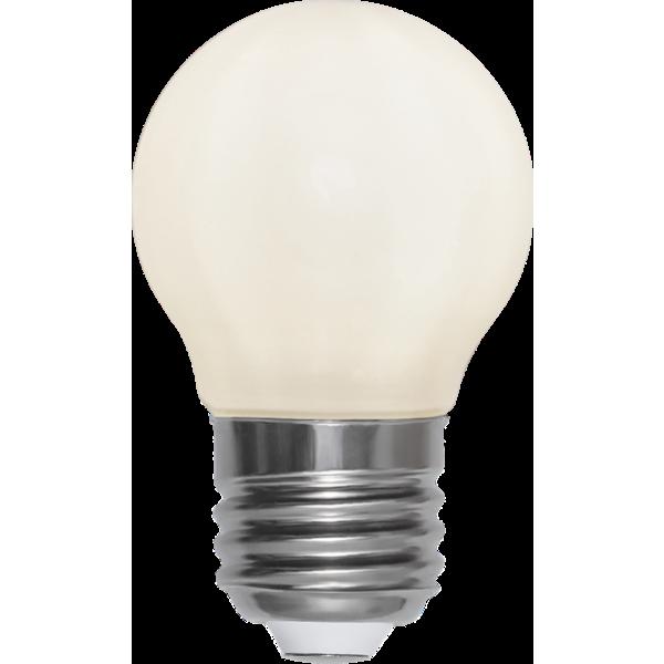 Filament-LED klot opal 3W(25W) E27