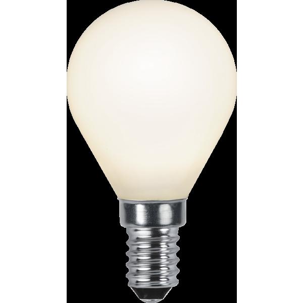 Filament-LED klot opal 4,7W(40W) E14