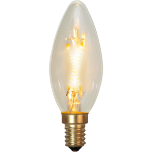 Filament-LED kron 0,5(5W) E14, soft glow