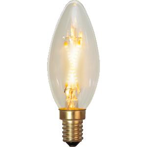 Filament-LED kron 0,5(5W) E14, soft glow