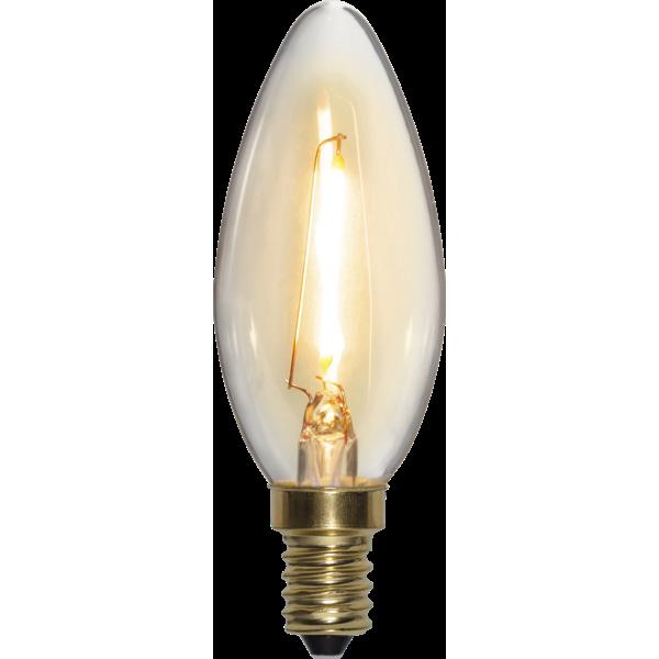 Filament-LED kron 0,8(10W) E14, soft glow