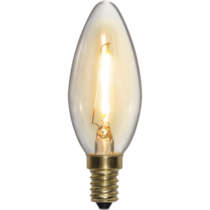 Filament-LED kron 0,8(10W) E14, soft glow