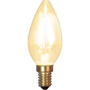 Filament-LED kron 1,5W(15W) E14, soft glow