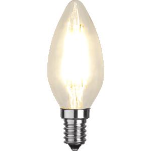 Filament-LED kron 4,2W(35W) E14, dimbar