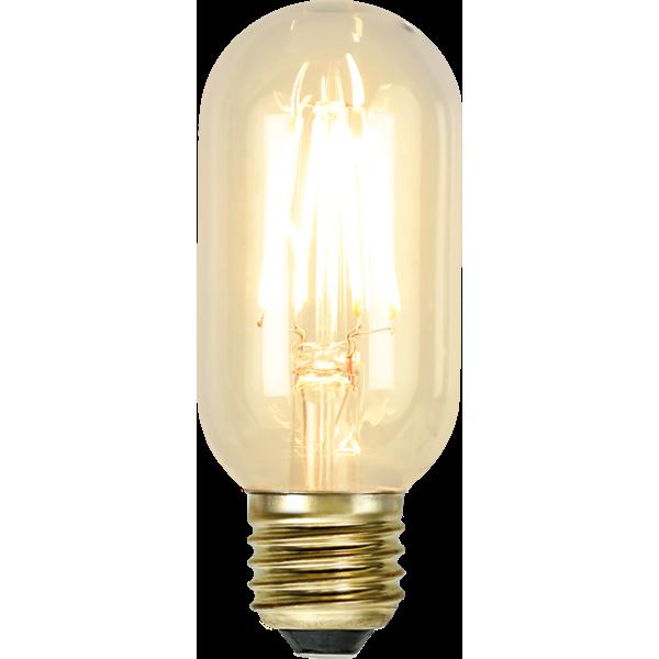 filament led tub med ett extra varmt ljus och E27 sockel.
