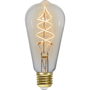 flexifilament led edison med e27 sockel.