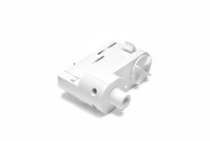 Adapter till 3-fas global skensystem. I färgen vit. Bild 1.