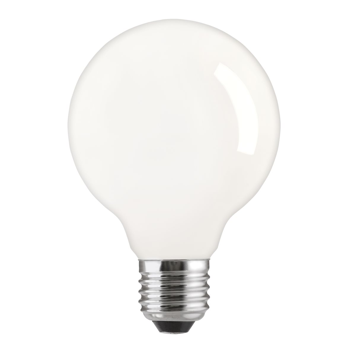 Glödlampa 100W glob E27, matt 125mm