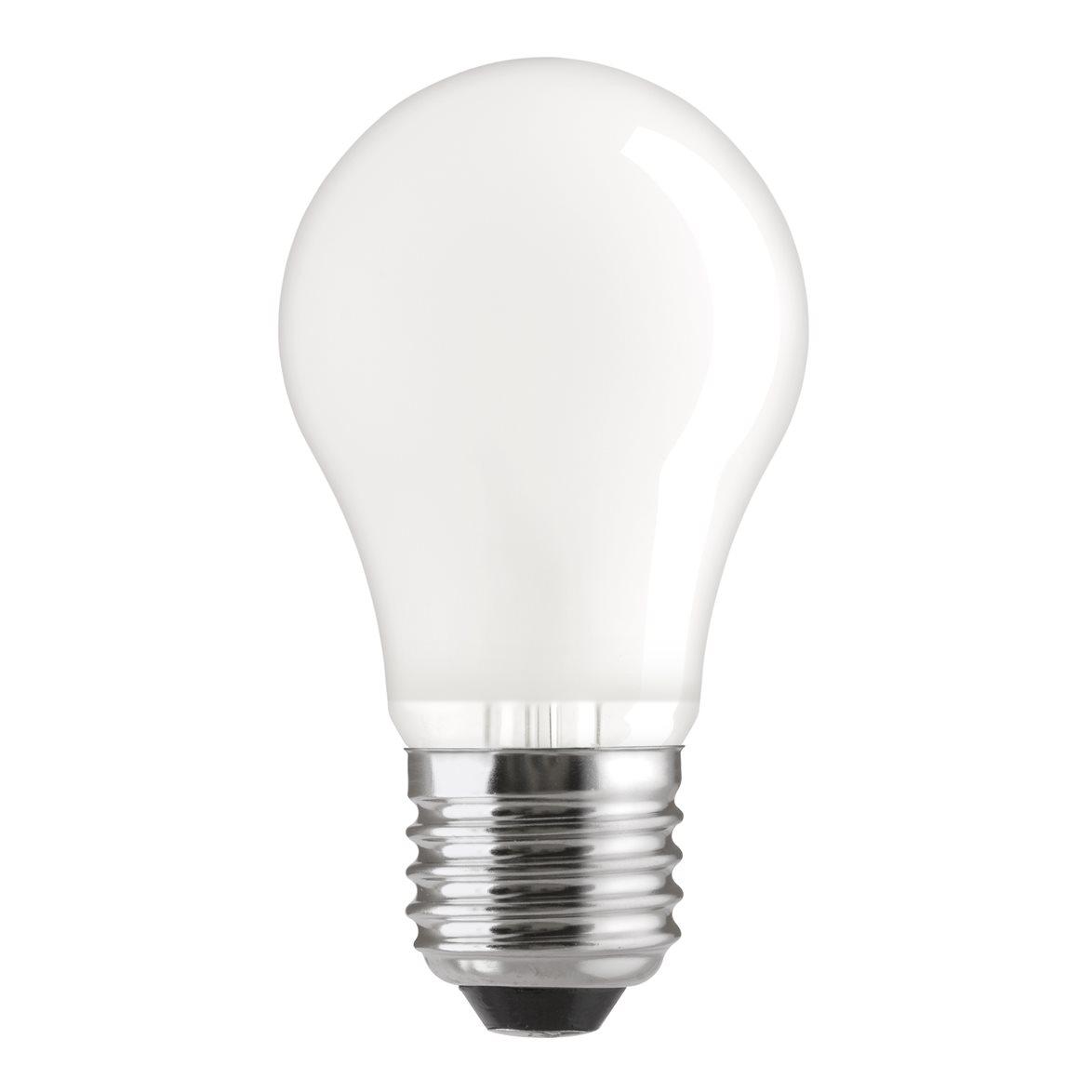 Glödlampa 60W normal E27, matt 2-pack