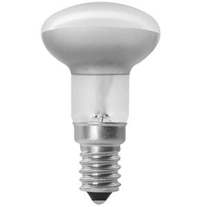 En glödlampa reflektor i R39 med E14 sockel, 30W