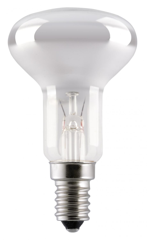En glödlampa reflektor i R50 med E14 sockel, 40W