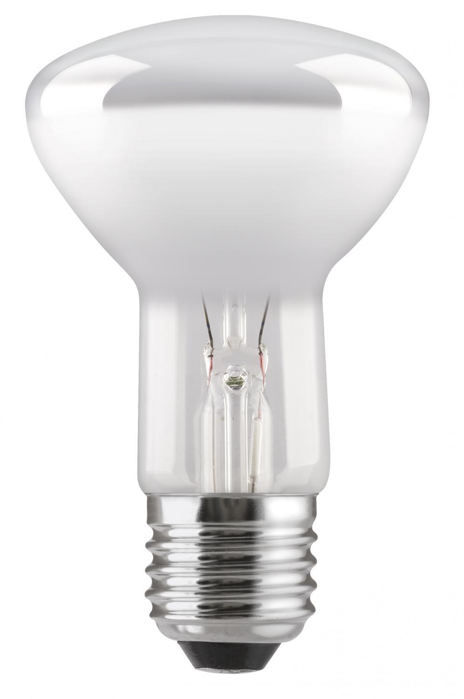 En glödlampa reflektor i R63 med E27 sockel, 40W