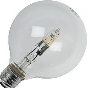 Halogenlampa 18W(25W) normal E27, klar 125mm