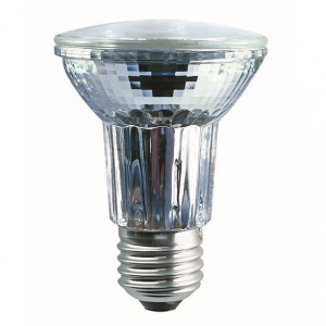 Halopar 30 är en spotlight lampa med E27 sockel. 50 watt och dimbar.