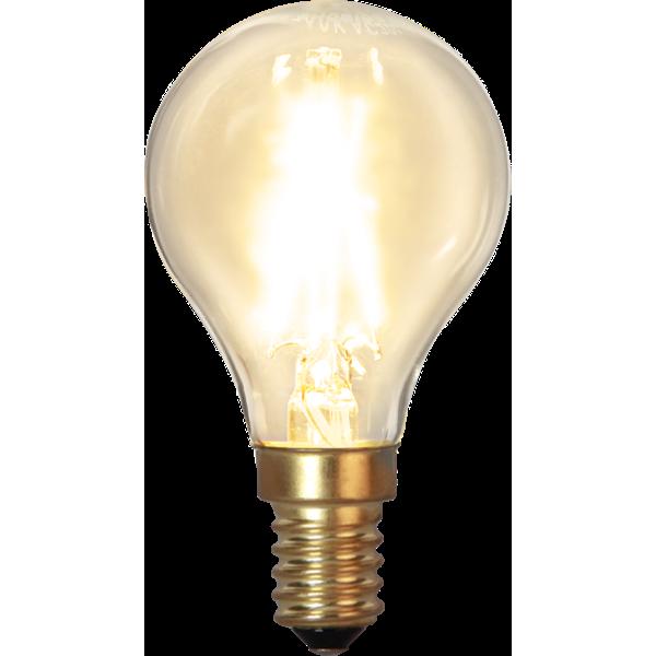 Klot-LED 1,5W(15W) E14, soft glow