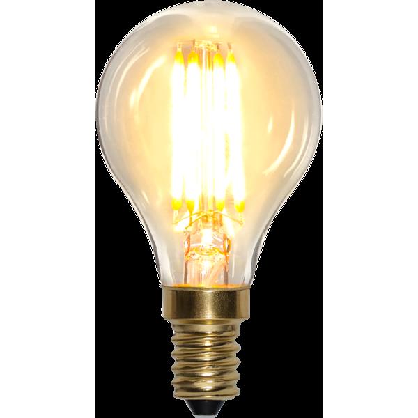 Klot-LED 4W(30W) E14, soft glow dimbar