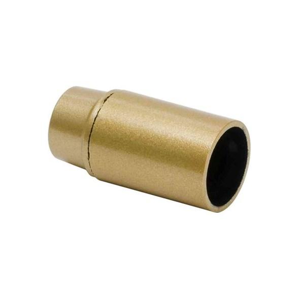 Unika Lamphållare E14 guld slät, ojordad HP-99