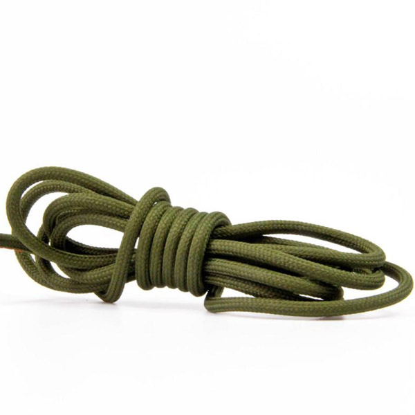 Militärgrön textilsladd ojordad kabel. Finns i flera olika längder.