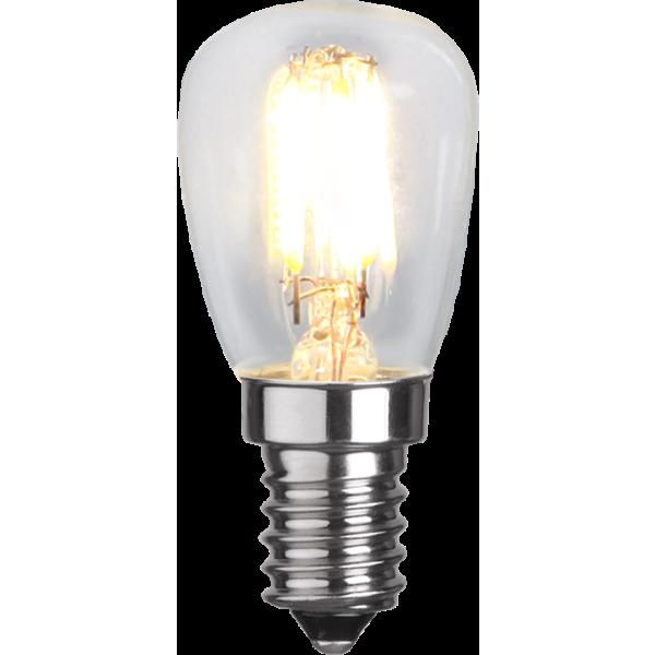 Päron-LED 1,3W(22W) E14, dimbar