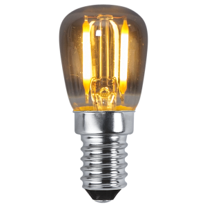 Päron-LED 1,4W(10W) E14, smoke