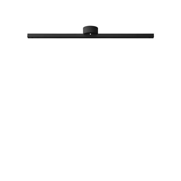 Pendelupphäng skena, svartstruktur 97cm