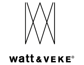 Logotyp för Watt och Veke.