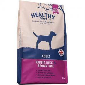 Healthy Paws Dog Adult Rabbit, Duck & Brown Rice