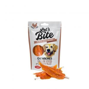 Lets Bite Chewbones, Calcium Sticks with Chicken 80 g
