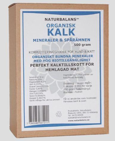 Organisk kalk, Naturbalans