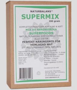 Supermix, Naturbalans
