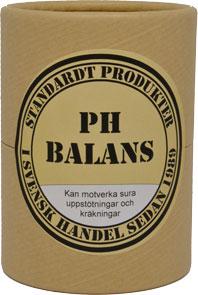 Standardt PH BALANS