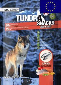 Tundra Snacks Lax (Skin & Coat) 100 g