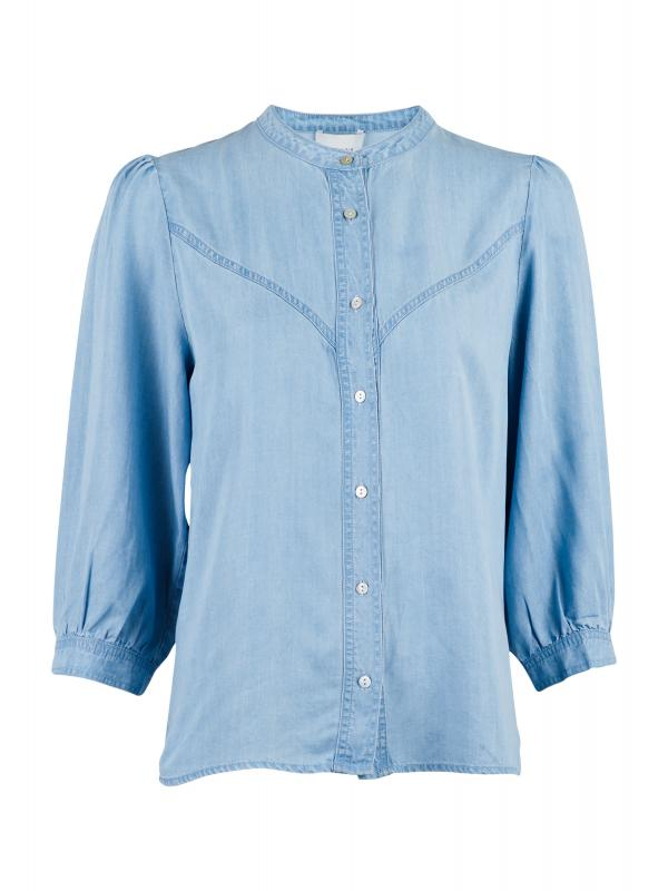 Normanna Chambray Shirt Vintage Blue