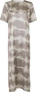 Larri Satin Tie Dye Dress Sand